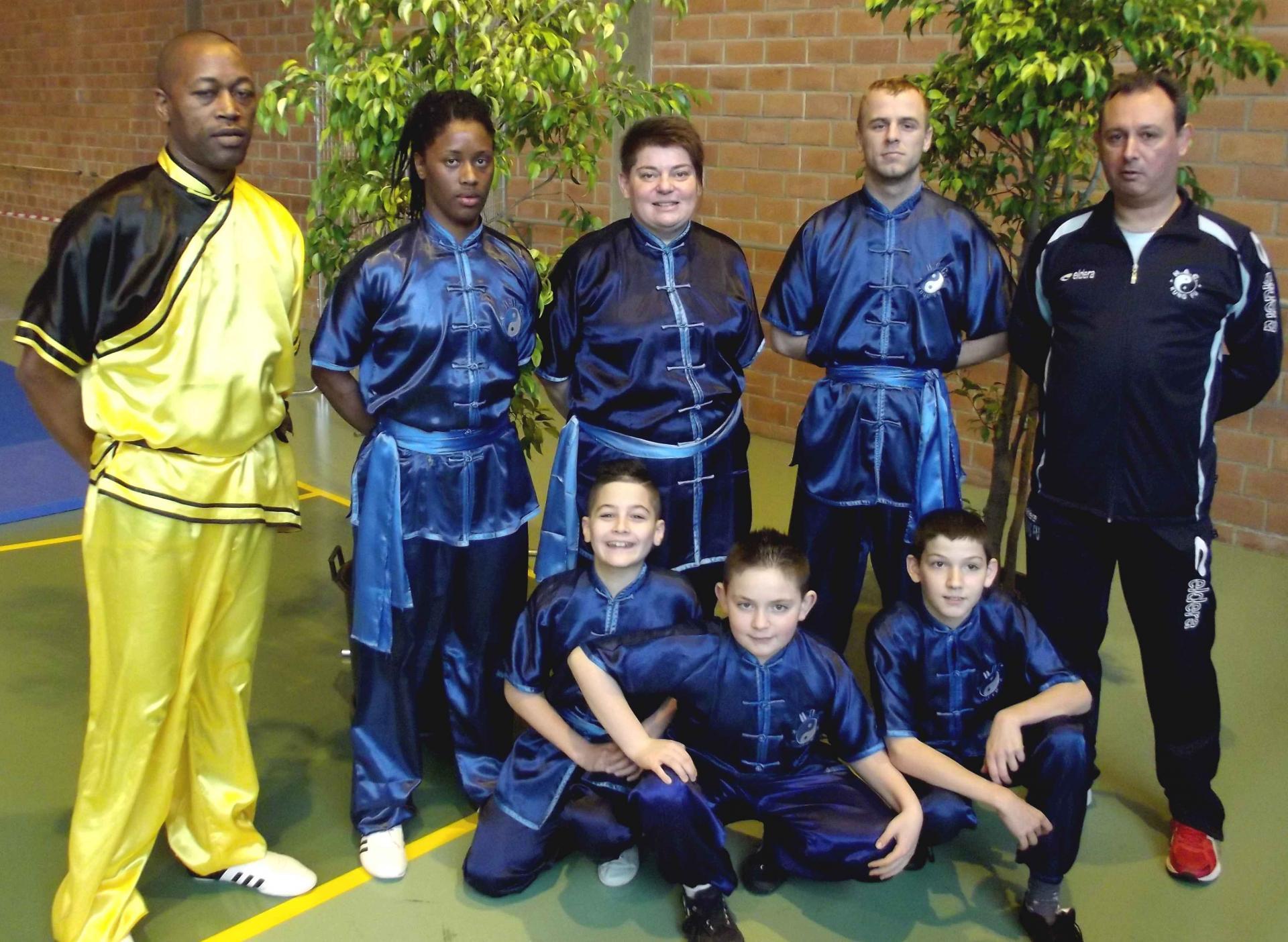 A equipe taolu