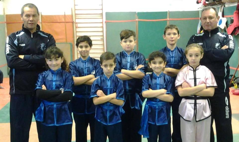 Groupe competiteurs hackf kungfu kids 18 12 2016